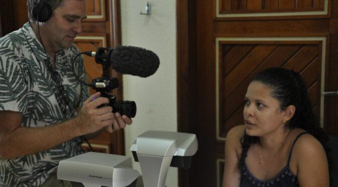 Cineasta francês produz vídeo institucional do Centro de Documentação Histórica da Ufopa