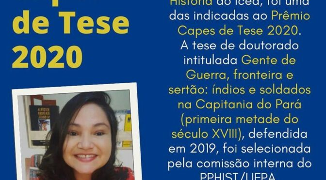 Professora Wania ganha o Prêmio CAPES de Tese 2020
